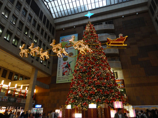 台北車站のツリー